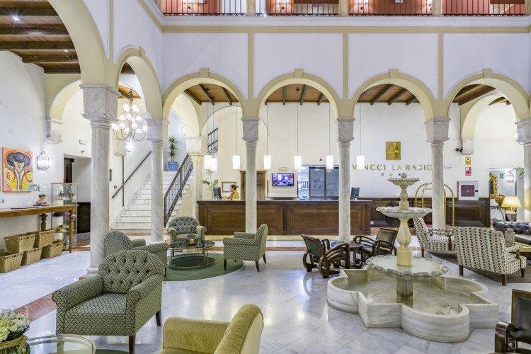 reception-hotel-vincci-la-rabida-seville
